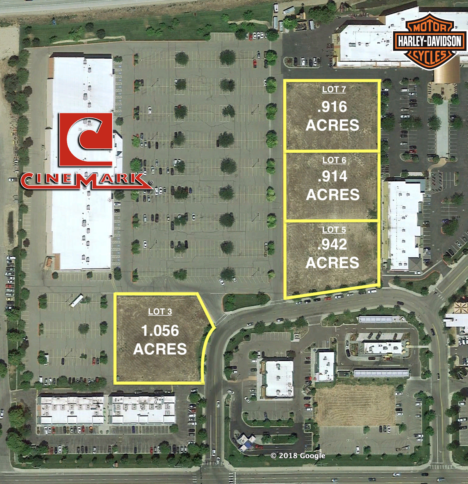 Meridian Lot Map
