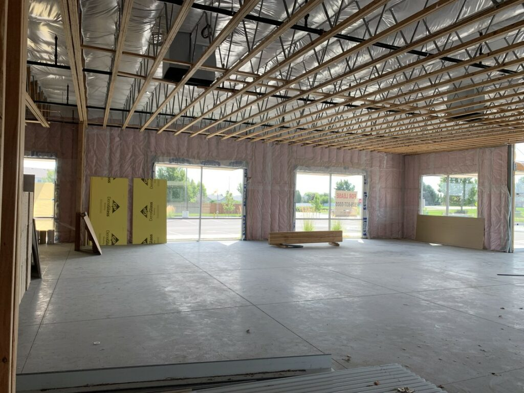 Burden Road Retail Building Interior